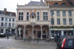 Ancien bailliage - Français:   Le bailliage à Aire-sur-la-Lys (Pas-de-Calais, France).
