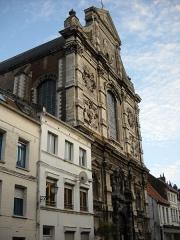 Eglise Saint-Jacques-le-Majeur et Saint-Ignace - English:   Saint-Jack\'s and Saint-Ignatius\' church, in Aire-sur-la-Lys, Pas-de-Calais, France.
