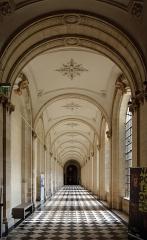 Ancienne abbaye de Saint-Waast - Nederlands: Arras (departement Pas-de-Calais, Frankrijk): de voormalige Sint-Vaastabdij - binnengezicht