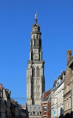 Beffroi - Nederlands: Arras (departement Pas-de-Calais, Frankrijk): belfort