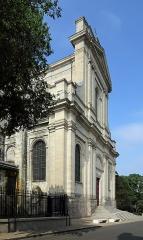 Cathédrale Notre-Dame et Saint-Vaast - Nederlands: Arras (departement Pas-de-Calais, Frankrijk): kathedraal Onze-Lieve-Vrouw en Sint-Vedastus (cathédrale Notre-Dame-et-Saint-Vaast) - noordzijde