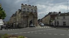 Fontaine du Pont-de-Cité ou fontaine Neptune -  Fontaine du Pont-de-Cité    'Arras Pas-de-Calais .- Nord-Pas-de-Calais-Picardie