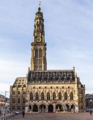 Hôtel de ville -  Hôtel de ville d'Arras, Nord-Pas-de-Calais