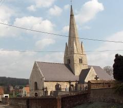 Eglise Saint-Martin -  Esquerdes (Frankreich, Dept. Pas-de-Calais), Martinikirche des 12.-16. Jh.s.