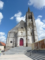 Eglise Saint-Léger - Français:   Fauquembergues (Pas-de-Calais, Fr) église Saint-Léger PA00108276