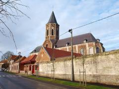 Eglise Saint-Sauveur - Français:   Ham-en-Artois (Pas-de-Calais; France);