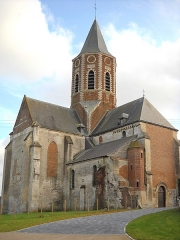 Eglise Saint-Sauveur - English:   The church of Ham-en-Artois, Pas-de-Calais, France.