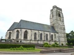 Eglise Saint-Lambert - English: Lambres (Pas-de-Calais) église PA00108327