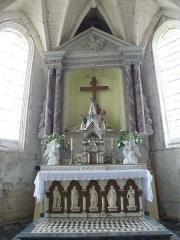 Eglise Saint-Omer - Français:   Merck-Saint-Liévin (Pas-de-Calais, France), église Saint-Omer classée M.H..