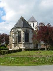 Eglise Saint-Vaast - Français:   Vue de l\'église Saint-Vaast de Rebreuviette.
