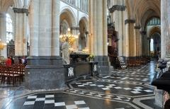 Collégiale, puis cathédrale Notre-Dame, actuellement église paroissiale Notre-Dame - Nederlands: Saint-Omer (département du Pas-de-Calais, Frankrijk): Onze-Lieve-Vrouwkathedraal, binnenzijde