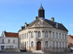 Hôtel de ville - This building is inscrit au titre des monuments historiques de la France. It is indexed in the base Mérimée, a database of architectural heritage maintained by the French Ministry of Culture,under the reference PA00108426 .