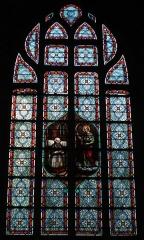 Eglise Notre-Dame de Pitié - Vitrail saint Joseph, église Notre-Dame-de-Pitié, Fr-44-le Croisic.