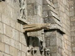 Eglise Saint-Aubin (ancienne collégiale) - Collégiale Saint-Aubin de Guérande, Gargouille