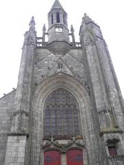 Eglise Saint-Aubin (ancienne collégiale) - Collégiale Saint-Aubin à Guérande (Loire-Atlantique, France).