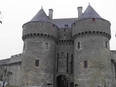 Remparts - Français:   Porte Saint-Michel à Guérande (Loire-Atlantique, France).