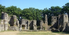 Château du Ranroët (ruines) - This building is inscrit au titre des Monuments Historiques. It is indexed in the Base Mérimée, a database of architectural heritage maintained by the French Ministry of Culture, under the reference PA00108629 .