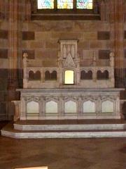 Cathédrale Saint-Pierre Saint-Paul - English: Altar of Saint Anne in Nantes Cathedral