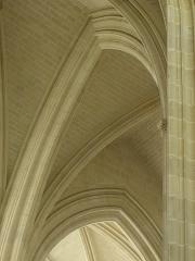 Cathédrale Saint-Pierre Saint-Paul - Intérieur de la cathédrale Saint-Pierre et Saint-Paul de Nantes (44).