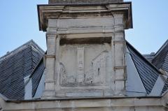 Hôtel Garreau - Français:   Bas-relief sur la façade de l\'Hôtel Garreau (1845) - Rue Dobrée, rue Damrémont - Nantes, Loire-Atlantique