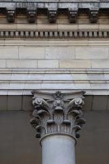 Hôtel de Montaudoin ou des Colonnes - Français:   Extérieur de l\'Hôtel de Montaudoin à Nantes (44).