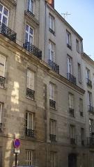 Immeuble - Français:   Immeuble, 1 rue d\'Argentré, Cours de Saint-André, Nantes, Loire-Atlantique