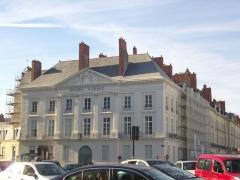 Hôtel d'Aux, puis hôtel du 11e Corps d'Armée - Français:   Hôtel d\'Aux à Nantes (Loire-Atlantique, France)