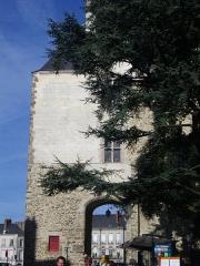 Porte gallo-romaine, dite du Bastion Saint-Pierre, dépendant de l'ancien évêché - Français:   Porte Saint-Pierre à Nantes (Loire-Atlantique, France)
