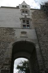 Porte gallo-romaine, dite du Bastion Saint-Pierre, dépendant de l'ancien évêché - Français:   Porte Saint-Pierre.