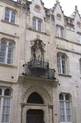 Presbytère de Saint-Nicolas - Brezhoneg: Dor presbital Saint-Nicolas, e Naoned.