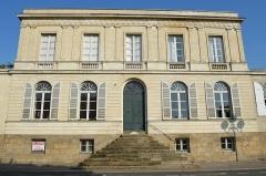 Immeubles, ancien hôtel Allard - Français:   Hôtel particulier situé 1 place du Général-Mellinet, une place octogonale bordée de huit hôtels particuliers aux façades identiques avec parc à l\'arrière, construits entre 1828 à 1874.