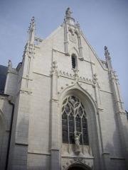 Eglise des Minimes - Chapelle Notre-Dame-de-l'Immaculée-Conception de Nantes (Loire-Atlantique, France)