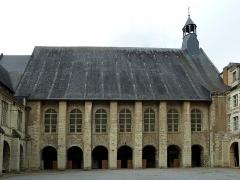 Ancienne abbaye du Ronceray - English:  Church of the Abbey of Ronceray, Angers, Maine-et-Loire, PAys de la Loire, France.