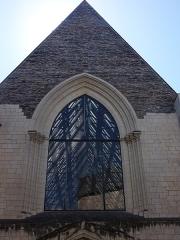 Abbaye Toussaint - Français:   Vue du musée David d\'Angers situé dans la rue Toussaint à Angers (Maine-et-Loire, France). Ancienne abbaye Toussaint, du XIIIe siècle. Juillet 2015.