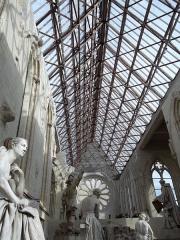 Abbaye Toussaint - Galerie David d'Angers, située dans l'ancienne abbaye Toussaint (Angers, France).