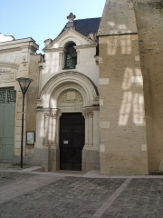 Temple (ancienne chapelle saint-Eloi) - Español: Iglesia protestante de Angers