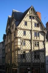 Maison d'Adam et Eve ou de l'Arbre de Vie - This building is classé au titre des monuments historiques de la France. It is indexed in the base Mérimée, a database of architectural heritage maintained by the French Ministry of Culture,under the reference PA00108927 .
