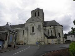 Eglise - Français:   Église Saint-Gervais et Saint-Protais de Brion (49).
