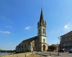 Eglise Saint-Maurille - Nederlands: Chalonnes-sur-Loire (departement Maine-et-Loire, Frankrijk): de Saint-Maurillekerk