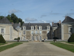 Château de la Lorie - Français:   La Chapelle-sur-Oudon - Château de la Lorie. Vue du corps principal.