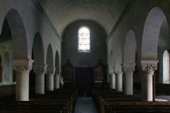 Eglise des Tuffeaux - This building is classé au titre des monuments historiques de la France. It is indexed in the base Mérimée, a database of architectural heritage maintained by the French Ministry of Culture,under the reference PA00109045 .
