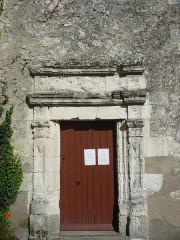 Eglise - Français:   Dénezé sous Lude - Eglise