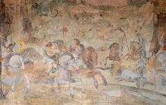 Château - Peintures murales de la galerie du Château de Durtal - Durtal, Maine-et-Loire