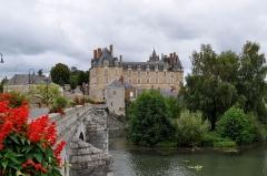 Château - Château de Durtal vue extérieure