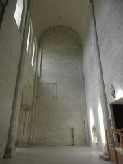 Ancienne abbaye royale de Fontevraud, actuellement centre culturel de l'Ouest - Transept sud de l'abbatiale de Fontevraud (49).