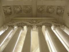 Ancienne abbaye royale de Fontevraud, actuellement centre culturel de l'Ouest - Français:   Clôture du chœur de l\'abbatiale de Fontevraud (49).