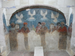Eglise Saint-Cyr et Sainte-Julitte - Jarzé - Eglise - Peintures murales