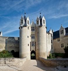 Château - vue du Château de Montreuil-Bellay (Maine-et-Loire).