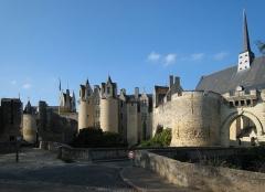 Château -  Castle Montreuil-Bellay, located in the village of Montreuil-Bellay in the county of Maine-et-Loire/France