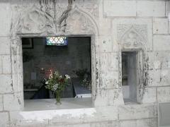 Eglise paroissiale (ancienne chapelle du château) - Français:   Église Notre-Dame de Montreuil-Bellay - intérieur côté nord (Maine-et-Loire, Pays de la Loire).